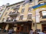 Аренда офиса класса В ,  Киев. ул. Б.Хмельницкого   307 кв. м. общей площади  ,  3 кабинета  вся  ос